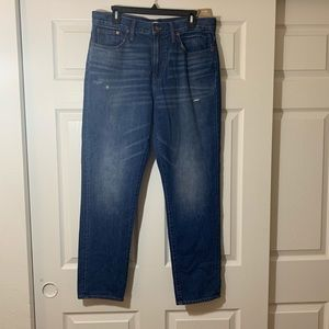 NWT   Madewell   Perfect Vintage Blue Jeans F6246
